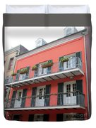 French Quarter 21 Duvet Cover