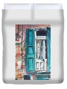 French Quarter Duvet Cover