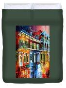 French Quarter Charm Duvet Cover