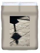 French Quarter Shadow Duvet Cover