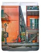 French Quarter Trio Duvet Cover