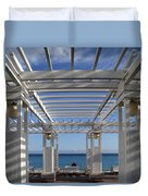 French Riviera 1 Duvet Cover