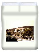 French Riviera 1955 Duvet Cover