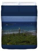 French Seashore Duvet Cover
