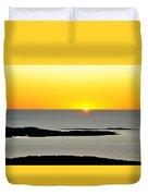 Frenchman's Bay Duvet Cover
