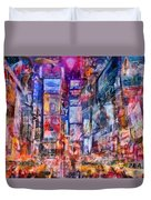 Frenzy New York City Duvet Cover