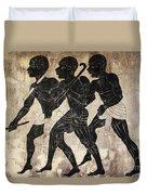 Fresco - Hunters Duvet Cover by Michal Boubin