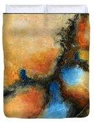Fresh Air Abstract Duvet Cover