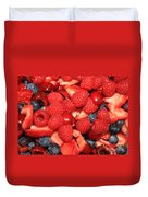 Fresh Berry Salad  Duvet Cover