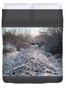 Fresh Blanket Of White Duvet Cover
