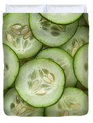 Fresh Cucumbers Duvet Cover
