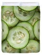 Fresh Cucumbers Duvet Cover