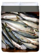 Fresh Fishes In A Market 2 Duvet Cover