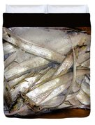 Fresh Fishes In A Market 3 Duvet Cover
