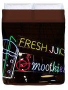 Fresh Juices Duvet Cover
