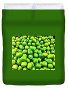 Fresh Lemons Duvet Cover