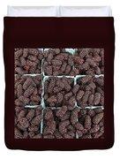 Fresh Marionberries Duvet Cover