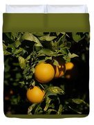 Fresh Oranges Duvet Cover