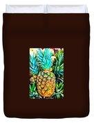 Fresh Pineapple Duvet Cover