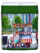 Fresh Popcorn Duvet Cover