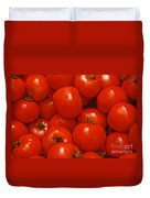 Fresh Red Tomatoes Duvet Cover