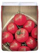 Fresh Ripe Tomatoes Duvet Cover