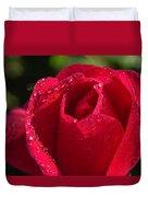 Fresh Rose Duvet Cover