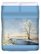 Fresh Snow Duvet Cover