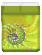 Fresh Spiral Duvet Cover