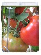 Fresh Tomatoes Ahead Duvet Cover