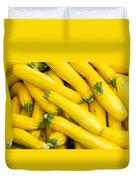 Fresh Yellow Squash  Duvet Cover