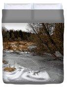 Freshly Frozen Duvet Cover