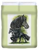 Friesian Duvet Cover