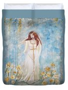 Freya - Goddess Of Love And Beauty Duvet Cover
