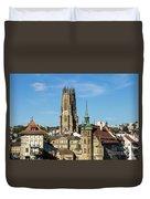 Fribourg, Switzerland Duvet Cover