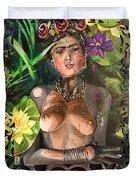 Frida De Ophelia Duvet Cover by Baroquen Krafts