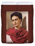 Frida Kahlo Live Duvet Cover