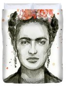 Frida Kahlo Portrait Duvet Cover