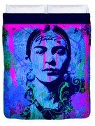 Frida Kahlo Street Pop Art No.1 Duvet Cover