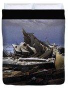 Friedrich Caspar David The Sea Of Ice Duvet Cover
