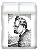 Friedrich Nietzsche Duvet Cover