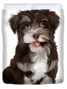 Friendly Dog Duvet Cover
