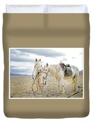 Friends And Companions  Duvet Cover