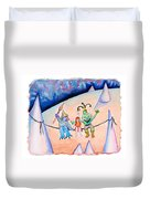 Friends Indeed Duvet Cover
