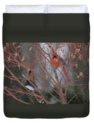 Friends Of A Feather Duvet Cover