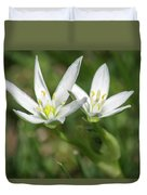 Friendship Flowers Duvet Cover