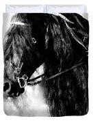 Friesian Horse Beauty Duvet Cover