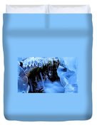Frigid Flow Duvet Cover