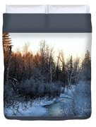 Frigid Sunrise Duvet Cover