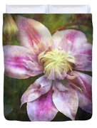 Frilled Clematis 1201 Idp_2 Duvet Cover